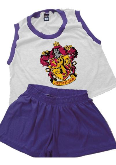 Pijama De Mujer Harry Potter Gryffindor