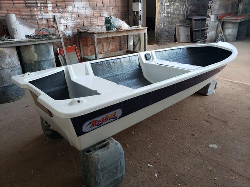 Barco Bote Fibra Vidro Pesca 3.50 Artsol 40 Anos Fabrica