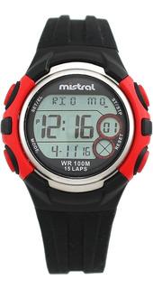 Reloj Pulsera Mistral Gdx Ie Digital 100m Wr Garantía