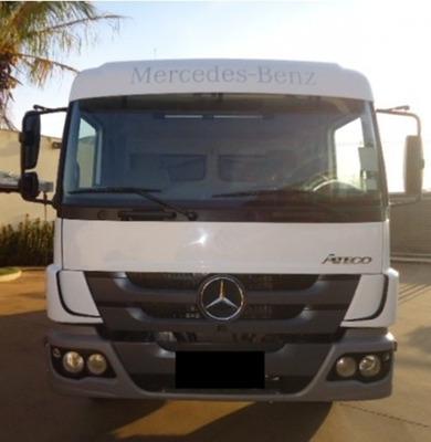 Mb Atego 2426 Ano 2014 Truck Caçamba Branco