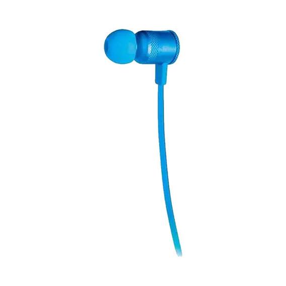 Fone De Ouvido Auricular Earphone Neon Pulse Azul Ph187