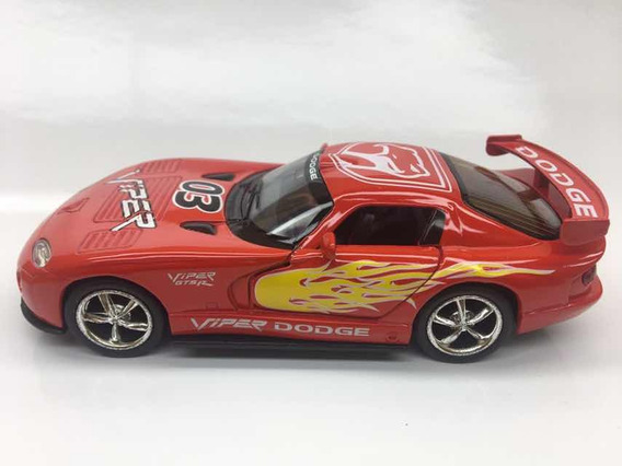 Miniatura Dodge Viper Vermelho