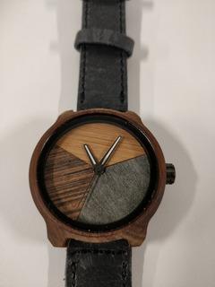 Reloj Hombre Mistura Wood Watch