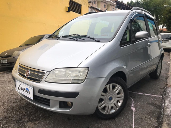 Fiat Idea Hlx 1.8 8v Completa Prata - 2007