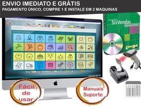 Software Controle De Estoque, Vendas, Pdv, Caixa, Financeiro