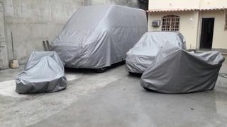 Capa Cobrir Carro 100% Impermeavél Karman Ghia Fiat 147