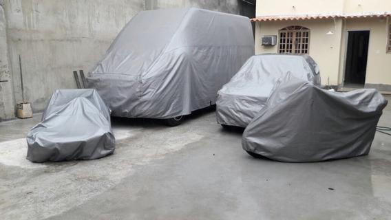 Capa Cobrir Carro 100% Impermeavél P M G Modelo Luxo