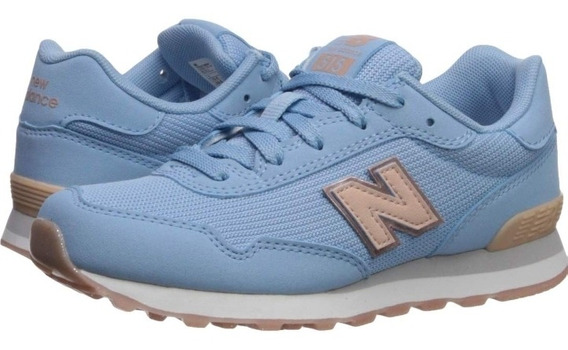 Tenis New Balance Mujer Baby Blue Classic