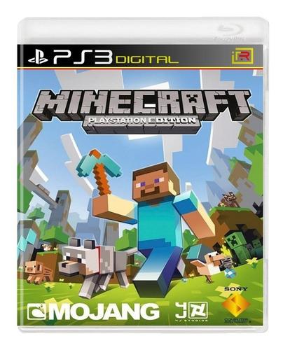 Minecraft Juego Original Playstation Digital Rt