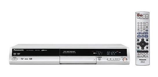 Gravador De Dvd Mesa Panasonic Dmr-es10 - Nacional / Pal-m