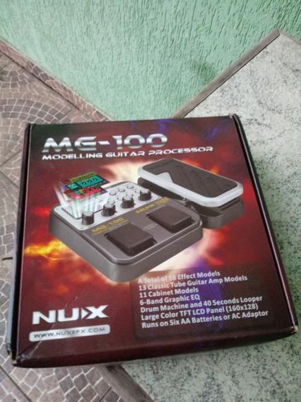 Pedaleira Nux Mg100 Mg 100 Mg-100 Guitarra