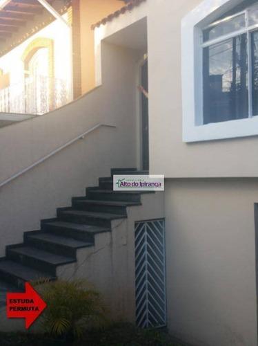 Sobrado Com 3 Dormitórios À Venda, 282 M² Por R$ 770.000,00 - Jardim Maria Estela - São Paulo/sp - So0839