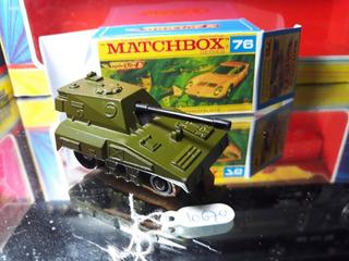 Miniatura 1973 Matchbox Lesney Sp Gun Truck #nas02-b