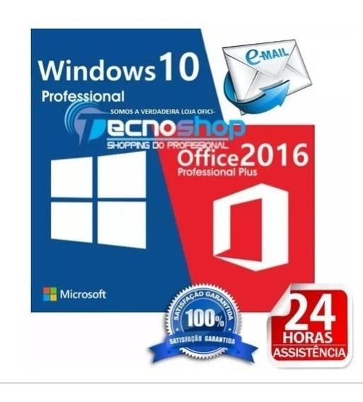 Pacote Licença Office 2016 Pro Plus + Vitalicio + 25 Digitos