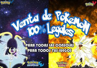 Pokemon Competitivos 3ds 100% Legales