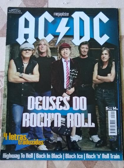 Poster Ac/dc - Deuses Do Rock