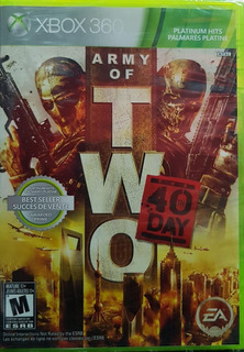 Army Of Two: 40th Day - Xbox 360