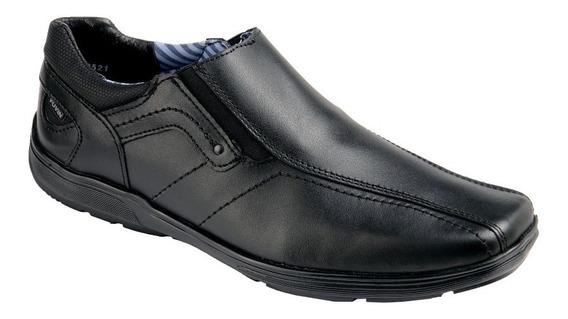 Yuyin Zapato Escolar Para Joven Color Negro Modelo 2402