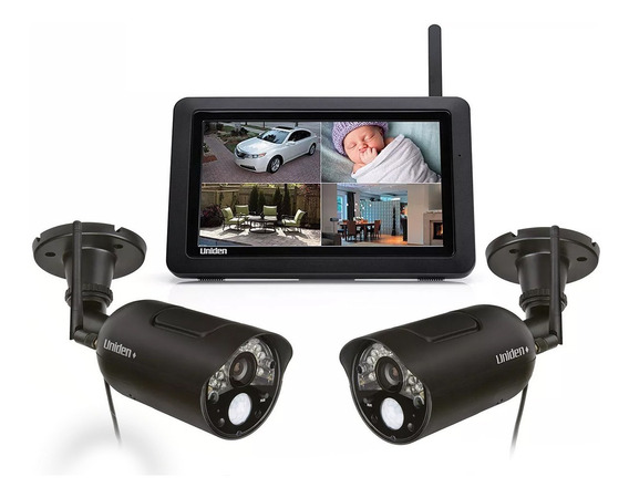 Cámara De Vigilancia Inalámbrico Digital Uniden Udr744 Visor
