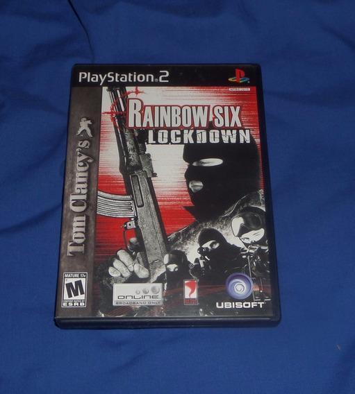 Rainbow Six Lockdown Original Ps2 Excelente Estado