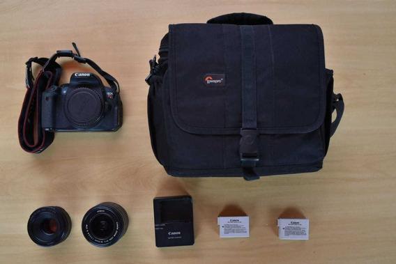 Kit Camera Canon Eos Rebel T5i (lente 50mm+bateria Lp-e8+bol