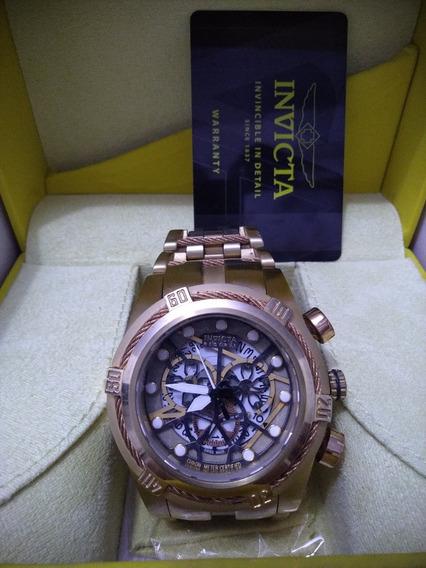 Relógio Dourado Invicta Original Altomatico