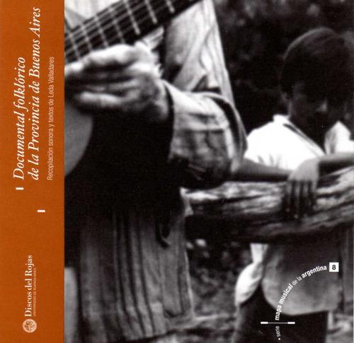 Leda Valladares - Doc. Folk. Pcia. De Buenos Aires - Cd