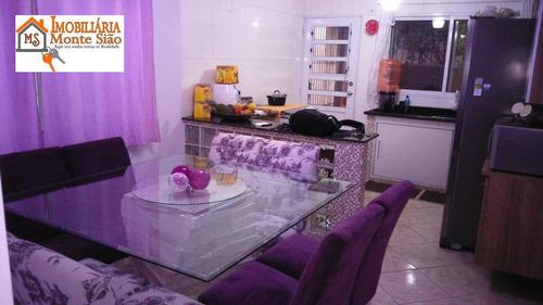 Sobrado Com 3 Dormitórios À Venda, 170 M² Por R$ 460.000,00 - Vila Carmela Ii - Guarulhos/sp - So0448
