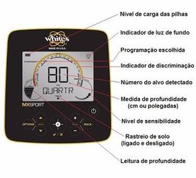 Manual Em Português Do Detector Mxsport