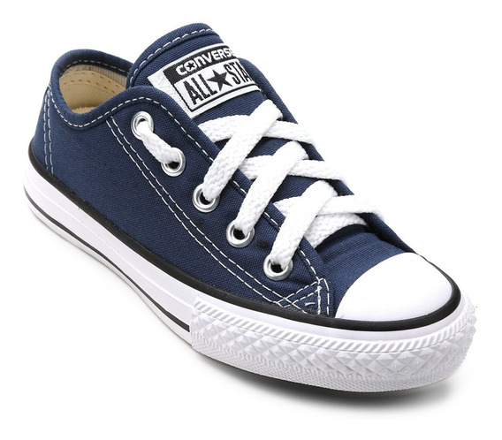 Tênis Converse Ct As Border Ox Marinho Infantil