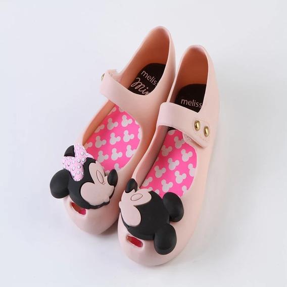Zapatos Niña Mini Melissa Mickey Minnie 13 A 18 Cm 4 Colores