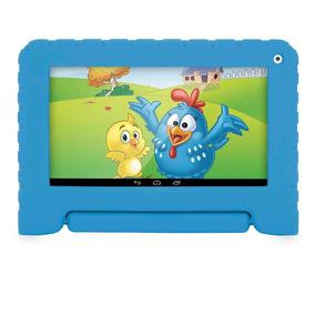 Tablet Galinha Pintadinha Infantil Quad Core Wifi Cam Capa