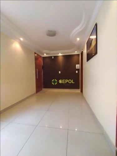 Apartamento Com 2 Dormitórios À Venda Por R$ 175.000,00 - Conjunto Habitacional Teotonio Vilela - São Paulo/sp - Ap0972