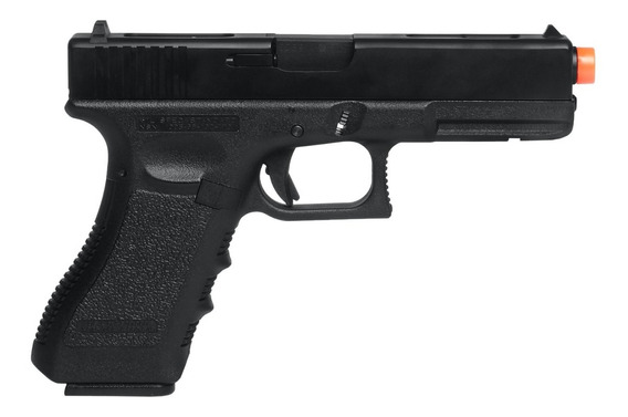 Pistola De Airsoft À Gás Gbb Green Gás G18c Blowback 6mm - K
