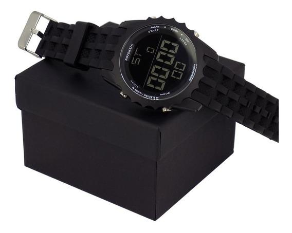 Relógio Pulso Masculino Potenzia Original Com Caixa Promoção