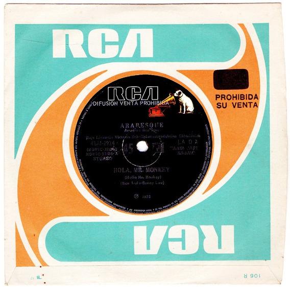 Arabesque Mr Monkey 1978 Vinilo 45 Promo Sandra Cretu Disco