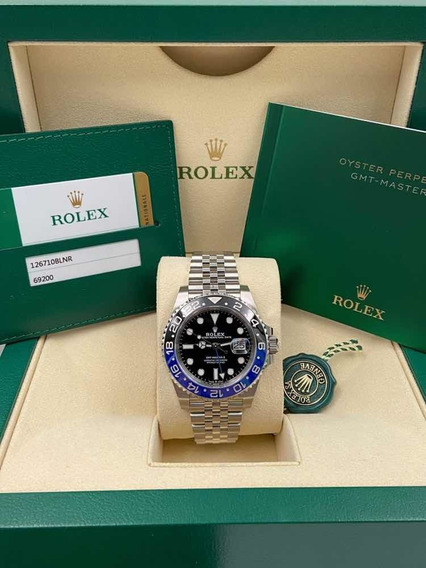 Relógio Rolex Gmt Ii Batman