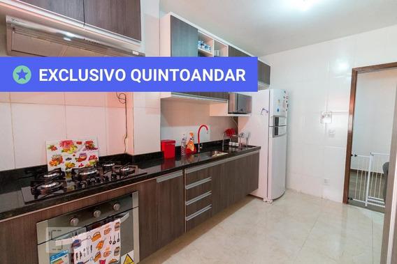 Apartamento No 2º Andar Mobiliado Com 2 Dormitórios E 1 Garagem - Id: 892983393 - 283393