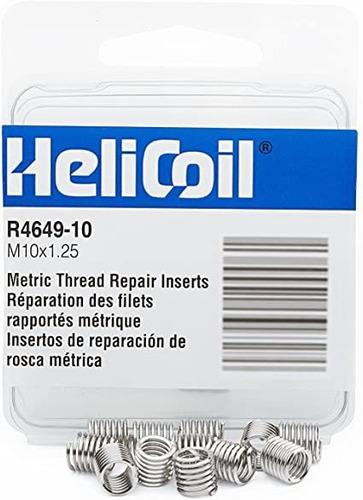 Heli-coil R464910 M10x1.25 Inserts / Pk 12