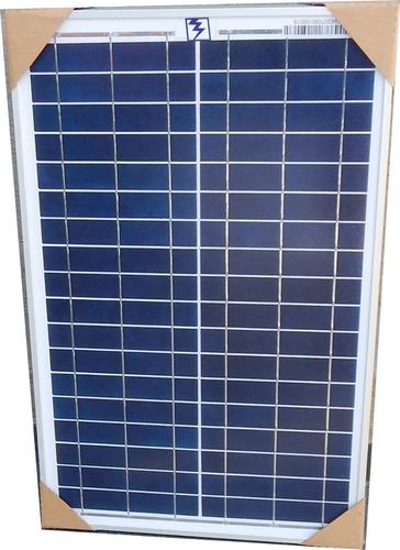 Imagen 1 de 3 de Panel Solar 25w Policristalino