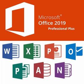 Licença Key Office Professional Plus 2019 Original Vitalicia