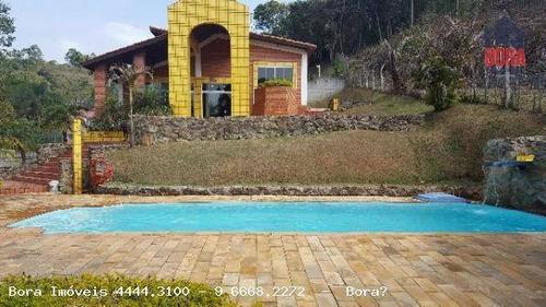 Chácara Com 3 Dormitórios À Venda, 1200 M² Por R$ 790.000,00 - Ypeville - Mairiporã/sp - Ch0156