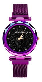 Reloj Gogoey Análogo Mujer Ejecutivo Dama Elegante Moderno