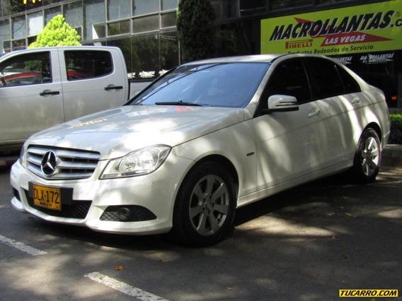 Mercedes Benz Clase C C180 Cgi 1800 Cc Turbo
