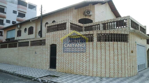 Imagem 1 de 25 de Sobrado Com 3 Dorms, Ocian, Praia Grande - R$ 550 Mil, Cod: Ant5102 - Vant5102
