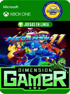 Megaman 11 - Xbox One - Modo Local + En Linea