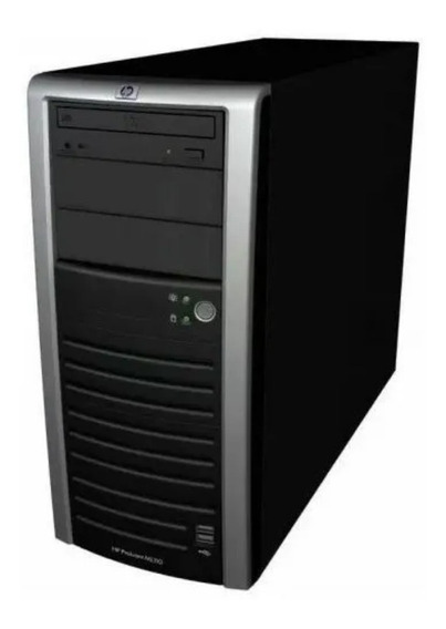 Servidor Hp Proliant Ml 110 G5, 8 Gb Memoria, Hd 1 Tb 7200