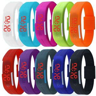 3 Relojes Digitales De Silicona Deportivos ¡¡gran Oferta!!