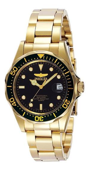 Relógio Masculino Invicta 8936 Pro Diver Ouro 23k Original