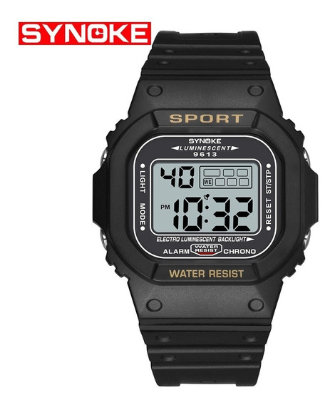 Relógio Masculino Synoke 9613 Digital A Prova D